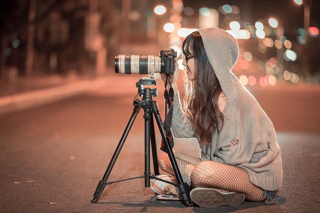 Utilizzo di una fotocamera SLR obsoleto e produzione di colpi straordinari