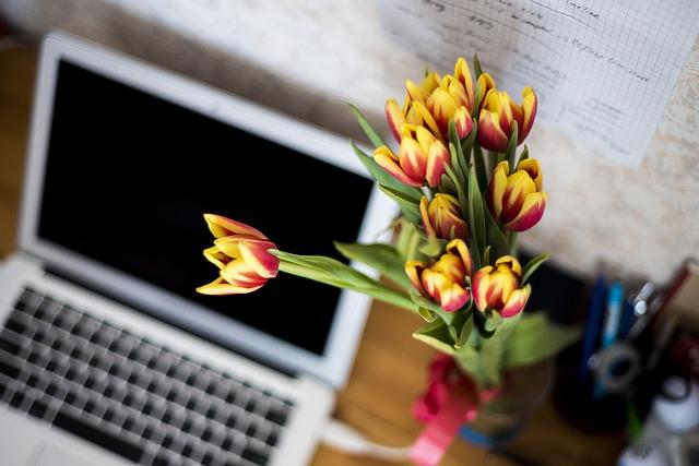 I fiori dell'ufficio di quattro ragioni sono più di semplici aggiunte al lavoro