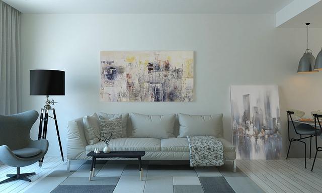 Design del soggiorno per piccole cas