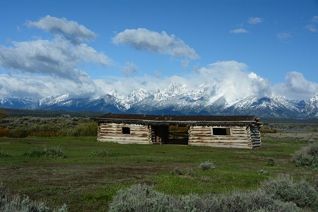 La bellezza di possedere una capanna di legno