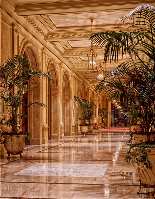 Illuminazione dell'hotel ideal