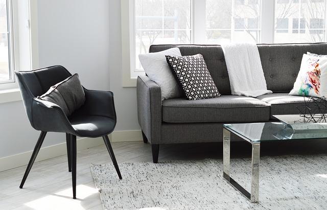 Arredi contemporanei come la sedia Egg sono grandi per il design moderno