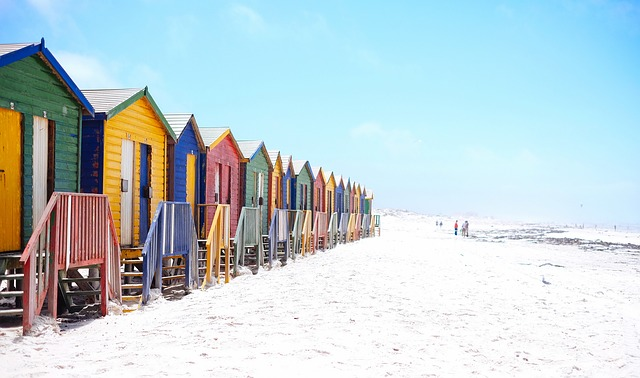 Selezione di grandi piani Beach Hous